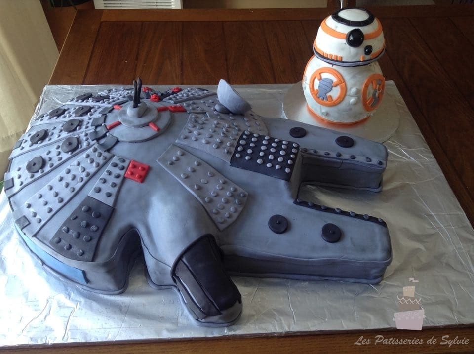 pin star wars cake3 225x300 cake idea for birthday cake on pinterest. Black Bedroom Furniture Sets. Home Design Ideas