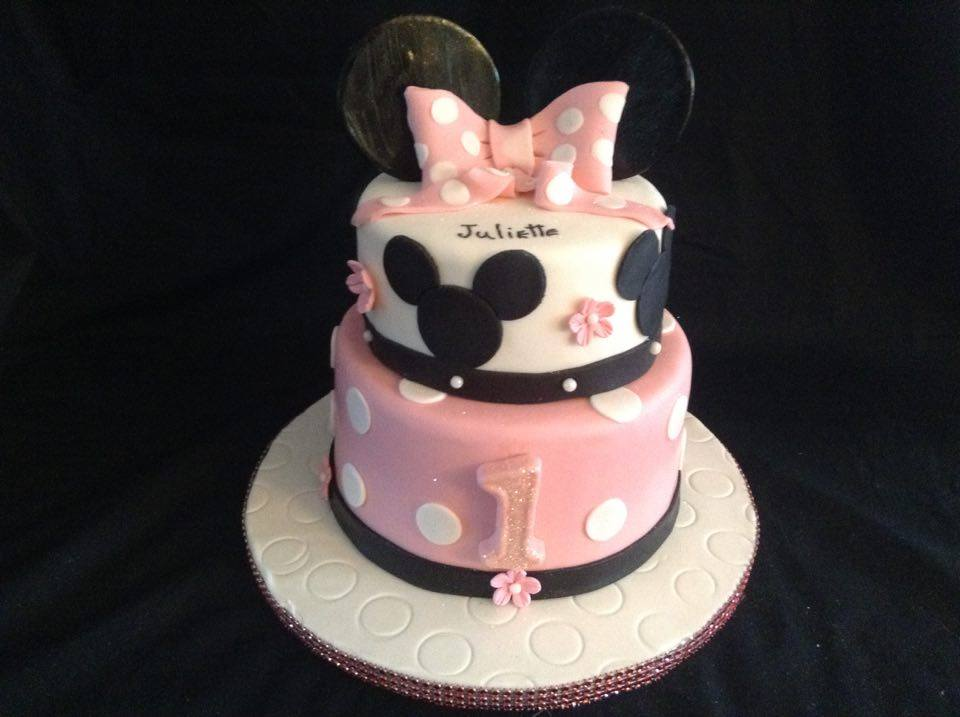 Gateau Minnie Mouse